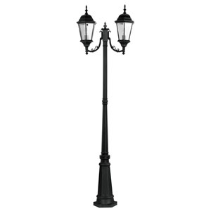 Hamilton Black Outdoor Post Lantern