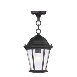 Hamilton black Outdoor Lantern