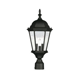 Hamilton Black Outdoor Lantern