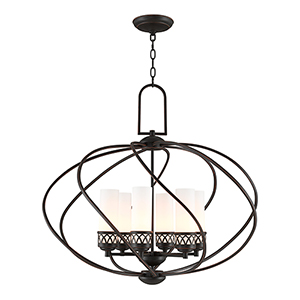 Westfield Olde Bronze Six-Light Chandelier
