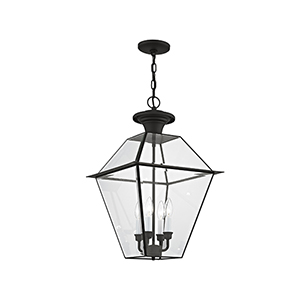 Westover Black Four-Light Outdoor Chain Hang