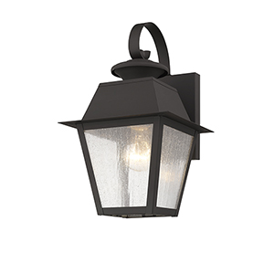Mansfield Bronze Outdoor Wall Lantern