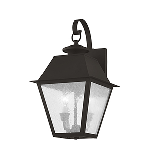 Mansfield Bronze Two-Light Outdoor Wall Lantern