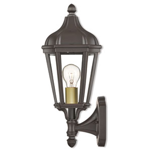 Morgan Bronze One-Light Outdoor Wall Lantern