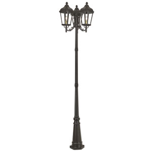 Morgan Bronze 26-Inch Three-Light Outdoor Post Light