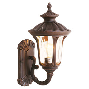Oxford Bronze One-Light Outdoor Wall Mount
