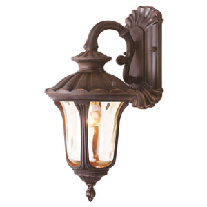 Oxford Bronze Small Down Outdoor Wall Mount