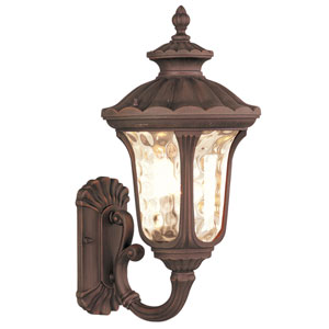 Oxford Imperial Bronze One-Light Exterior Lantern Fixture