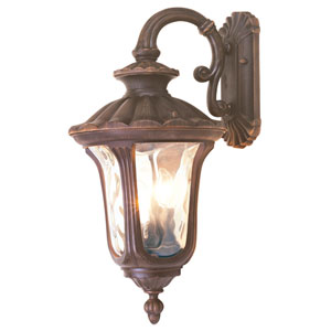 Oxford Bronze Large Down Outdoor Wall Mount