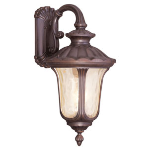 Oxford Imperial Bronze Three-Light Outdoor Wall Lantern