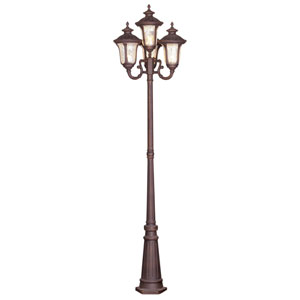Oxford Imperial Bronze Four-Light Outdoor Post Mount