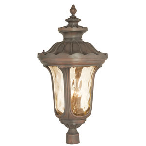 Oxford Imperial Bronze 17-Inch Four-Light Outdoor Post Lantern
