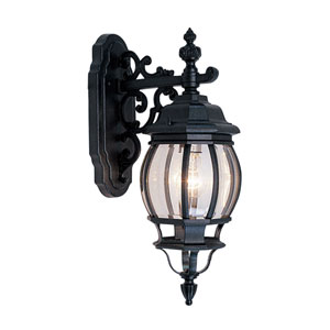 Frontenac Black Outdoor Lantern