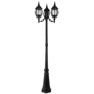 Basics Black Outdoor Lantern