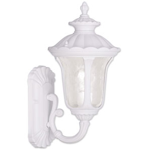 Oxford White 15.5-Inch One Light Outdoor Wall Lantern