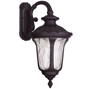 Oxford Bronze 19-Inch One Light Outdoor Wall Lantern