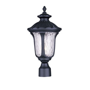 Oxford Black One Light 19-Inch Outdoor Post Head