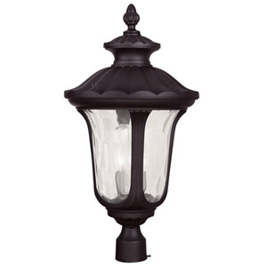 Oxford Bronze 26.5-Inch Three Light Outdoor Post Head Only