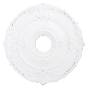 Buckingham White 22-Inch Ceiling Medallion