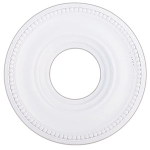 Wingate White 12-Inch Ceiling Medallion