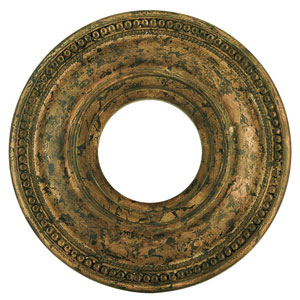 Wingate Hand Applied Venetian Golden Bronze 12-Inch Ceiling Medallion