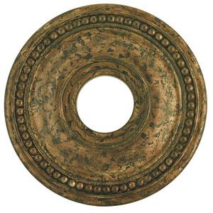 Wingate Hand Applied Venetian Golden Bronze 16-Inch Ceiling Medallion