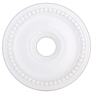 Wingate White 20-Inch Ceiling Medallion