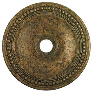 Wingate Hand Applied Venetian Golden Bronze 30-Inch Ceiling Medallion