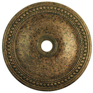 Wingate Hand Applied Venetian Golden Bronze 36-Inch Ceiling Medallion