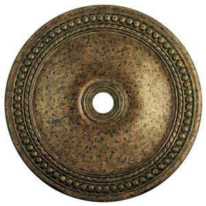 Wingate Hand Applied Venetian Golden Bronze 42-Inch Ceiling Medallion