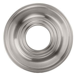 Brushed Nickel Smooth Ceiling Medallion