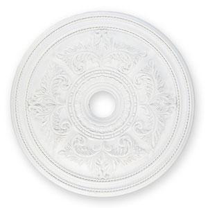 Large White Ceiling Medallion