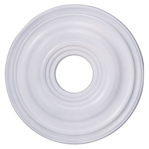 White 16-Inch Ceiling Medallion