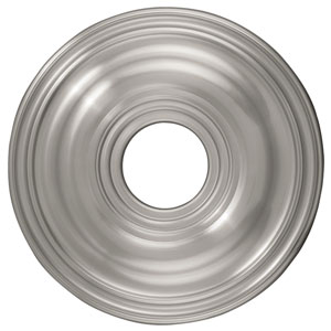Brushed Nickel Ceiling Medallion