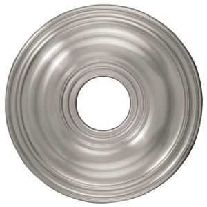 Brushed Nickel Ceiling Medallion