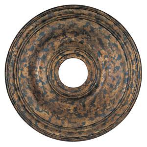 Venetian Golden Bronze Ceiling Medallion