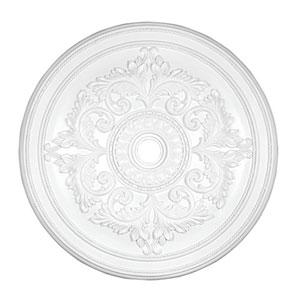 White Ceiling Medallion