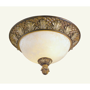 Savannah Venetian Patina Ceiling Mount