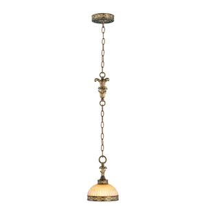 Seville Palacial Bronze One-Light Mini Pendant