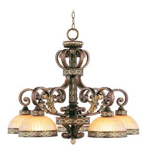 Seville Palacial Bronze Five-Light Chandelier