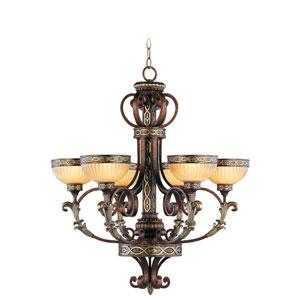 Seville Palacial Bronze Six-Light Chandelier