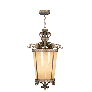 Seville Palacial Bronze Six-Light Lantern Pendant