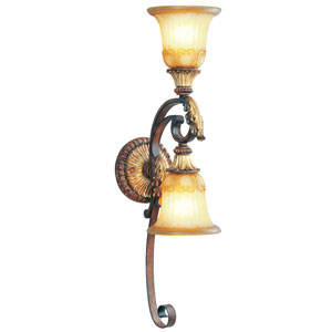 Villa Verona Bronze Two-Light Wall Sconce
