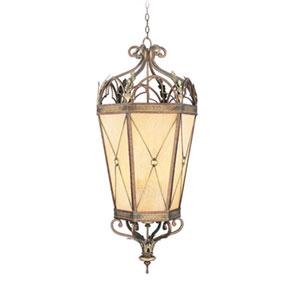 Bristol Manor Palacial Bronze Six-Light Lantern Pendant