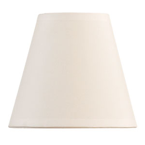Ivory 5-Inch Chandelier Shade