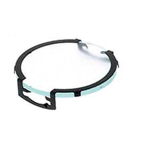 Clear Frost Single Black Lens Clip