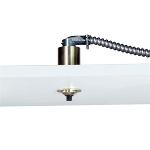 Satin Nickel Fusion Jack 1.5-Inch Low Profile Canopy