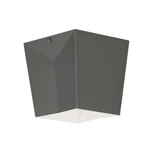 Flection Rubberized Gray LED Flush Mount