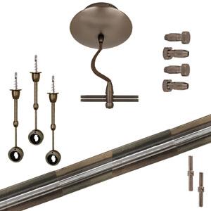 Bronze Straight Monorail Kit