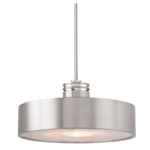 Hover Satin Nickel Monorail Pendant